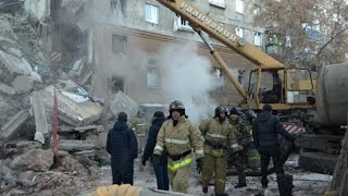 At least four dead in Russia building collapse