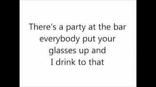 NBC Smash - Cheers (Drinks To That) (lyrics on screen)