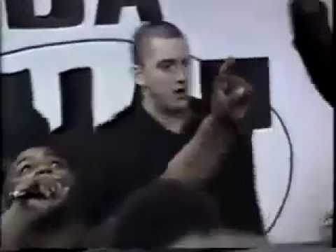 Eminem D12 Live performance 1997 - the Phat House