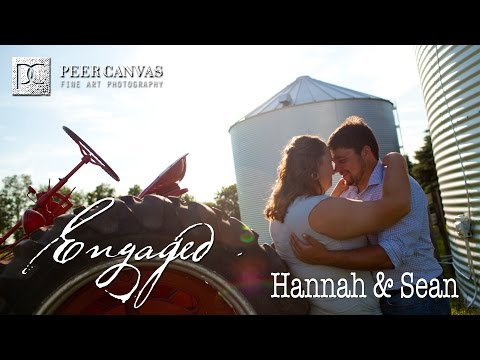 Country engagement love story byron IL IA wedding peer canvas photographer