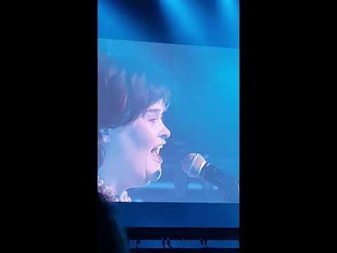 Susan Boyle  in rpool  Wild Horses  Feb 11, 2018