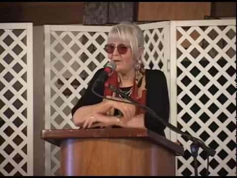 Joanne Kyger Poetry and Questions in Willits, California.