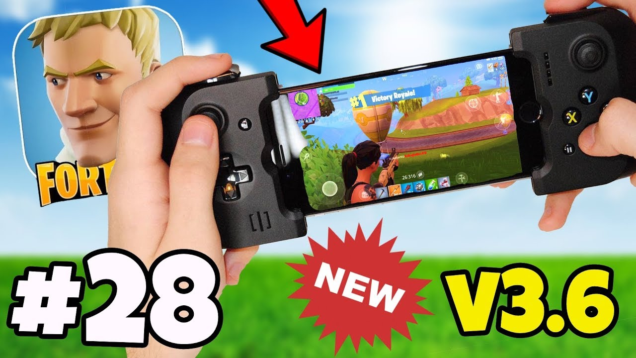 Controller Support Is Added In V3 6 Fortnite Mobile Android Ios