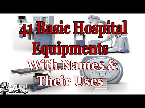 41 Basic Hospital Equipments With Names And Their Uses