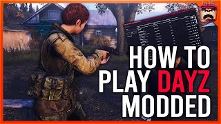 HOW TO JOIN A DAYZ  STANDALONE MODDED SERVER , INSTALL THE DZSA LAUNCHER AND FIND A 1.08 SERVER 2020