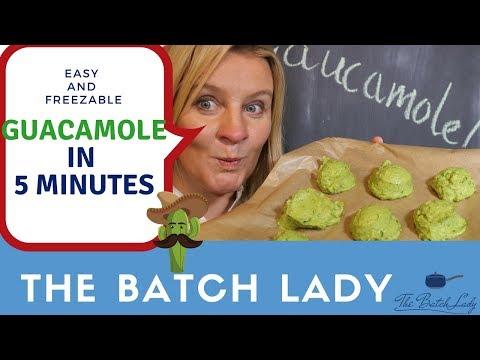 Easy & Freezable Guacamole