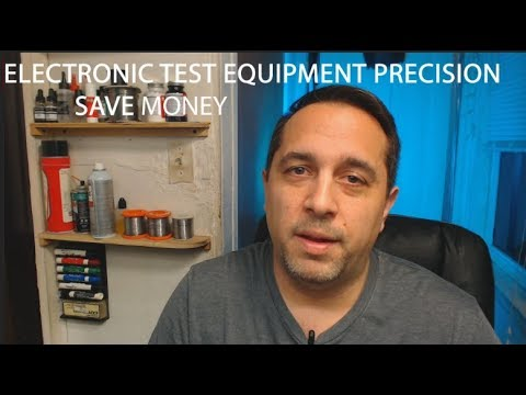 Electronic Test Equipment Precision. Save Money.