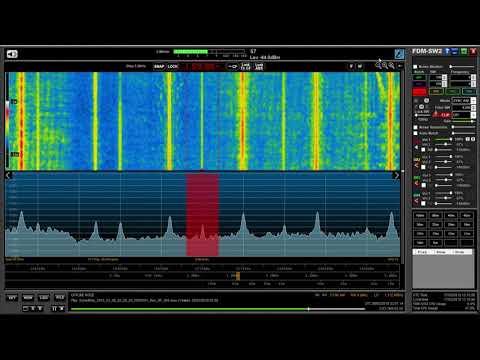 Medium wave DX: XERF La Poderosa 1570 kHz, Mexico copied in Oxford UK
