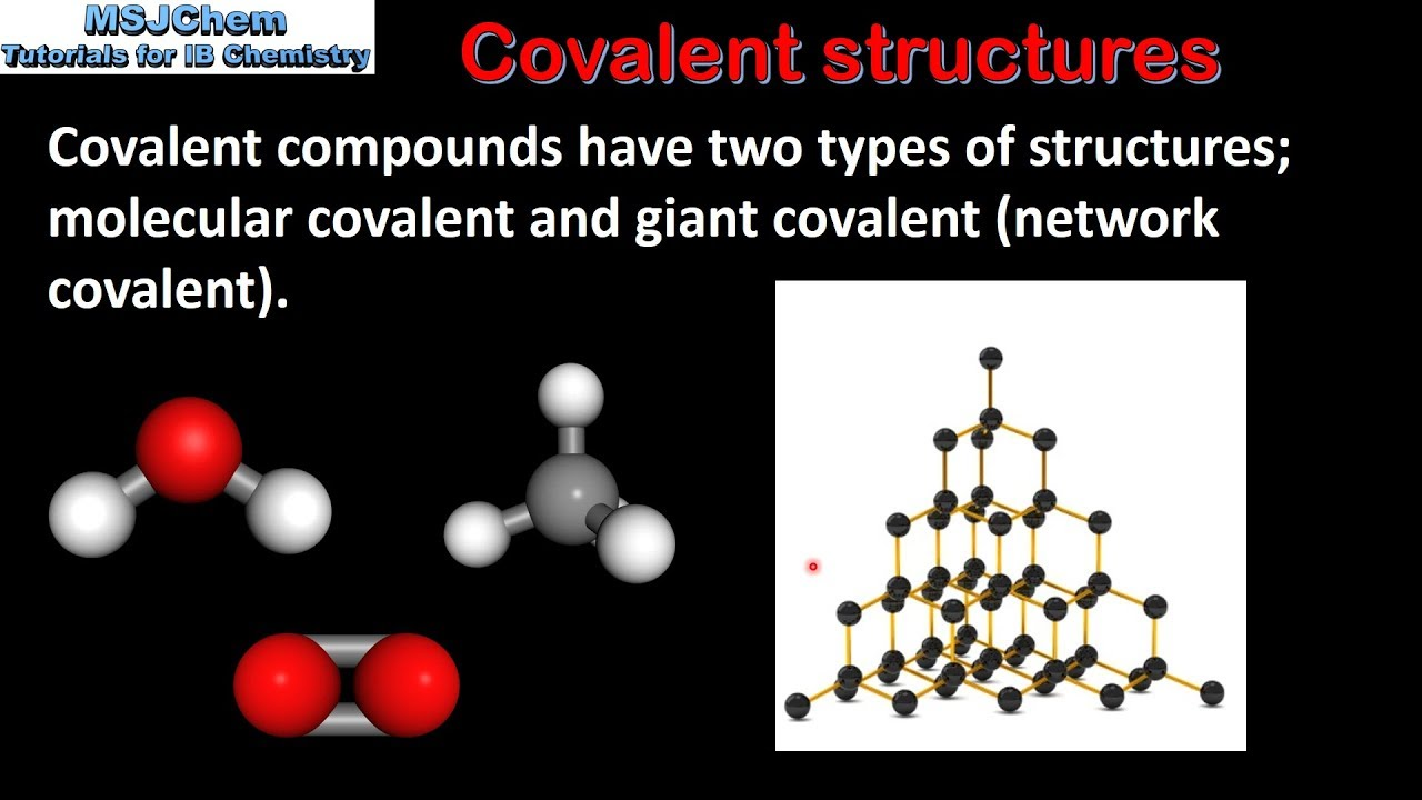 4 3 Structure And Properties Of Covalent Compounds  Sl