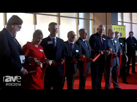 ISE 2016: Ribbon Cutting Ceremony Marks the Start of the 2016 Show