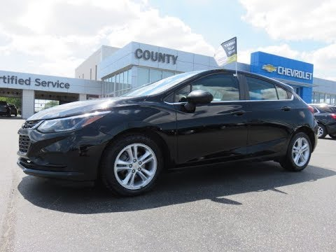 2018 Chevrolet Cruze LT Hatchback Black - YouTube