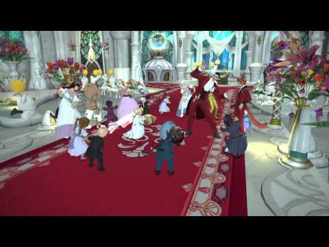 Jusi and Barag's FF14 Bonding Ceremony Dance Off