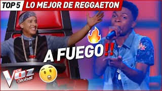 Download Las MEJORES actuaciones de REGGAETON en La Voz Kids Mp3 and Videos
