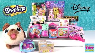 disney shopkins chubby puppies squinkies my little pony more opening   pstoyreviews