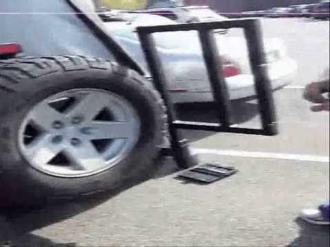Jeep Door Carrier Mounted on Rubicon & Jeep Door Carrier Mounted on Rubicon - YouTube