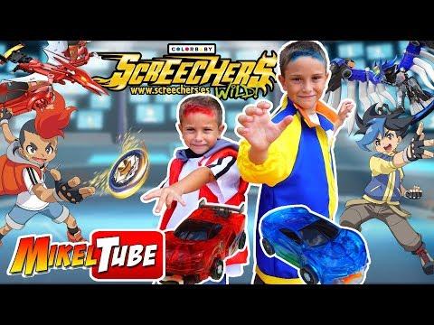 Mikel y Leo son ahora Xander y Ringo de Screechers Wild