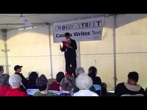 George Bowering at The Word On The Street Vancouver 2012