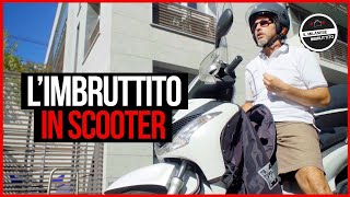 Il Milanese Imbruttito in scooter