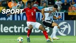 Österreich - Deutschland 1:1 - Die Highlights | Fußball U21-EM 2019 - ZDF