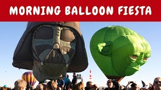 Albuquerque International Balloon Fiesta - Morning Events - October 2018 - New Mexico Travel Vlog