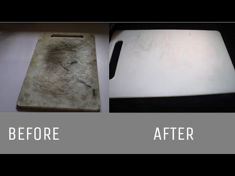 ഇങ്ങനെയും ക്ലീൻ ചെയ്യാമായിരുന്നോ ?🤔/How to Clean Plastic Chopping Board at home/Cuisine Art by Anan