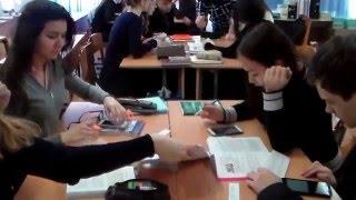 Видеофрагменты урока английского языка в 11 классе. Учитель: Кабылова А. А.