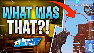 WHAT WAS THAT?! Feat. Sypher PK (Fortnite Battle Royale)
