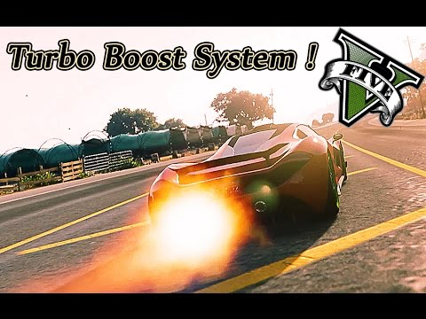 GTA 5 PC - Turbo Boost System and Super Truck Punch ! | Gotten Gains dlc  (Funny Moments)