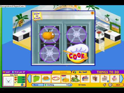 New webkinz recipes 1 youtube for Ainbowray canape