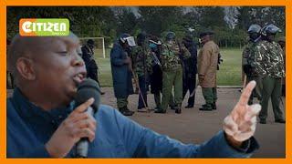 Polisi wanamsaka mbunge wa Kapsaret Oscar Sudi