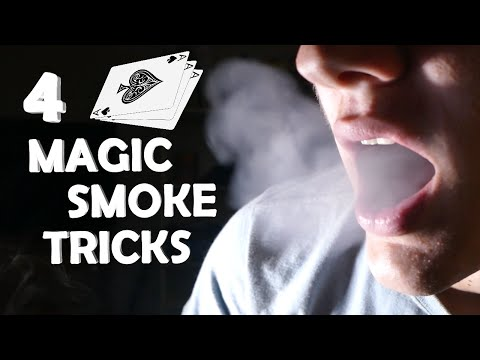 Thumbnail: 4 Amazing Smoke Magic Tricks! - Breath Smoke Out Of Thin Air!!! (Super Easy, Very Impressive)