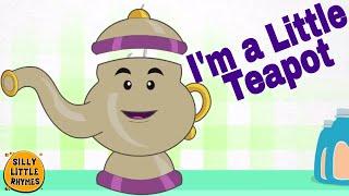 ☕ I ' m a Little Teapot | Cartoon Kinder Englisch Kinderreime ☕
