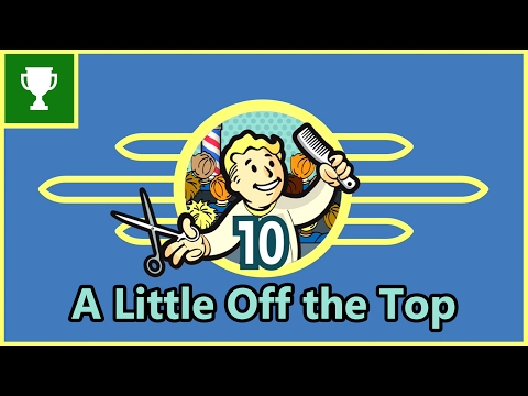 Fallout Shelter - A Little Off The Top - Achievement Guide