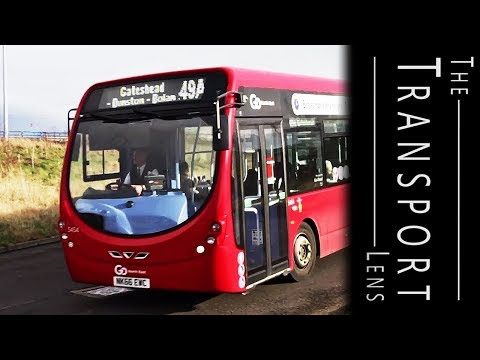 Go North East Buses -  Gateshead Metro Centre February 2017 Part 3