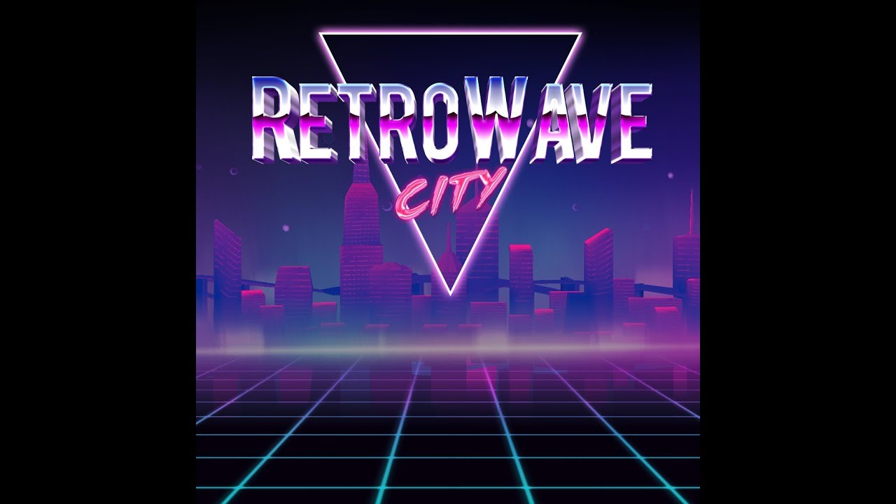 RetroWave City Dynamic Theme
