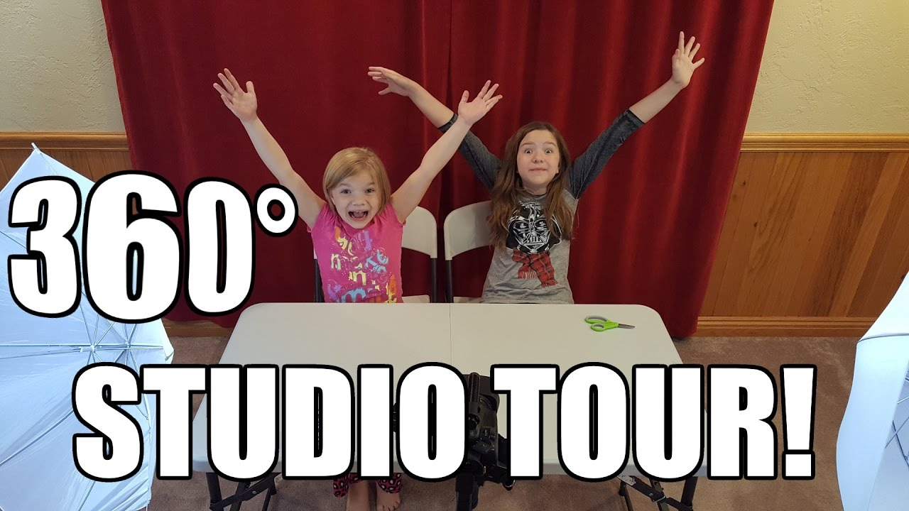 360 Video Studio Tour! See Where Babyteeth4 Makes Videos! - YouTube