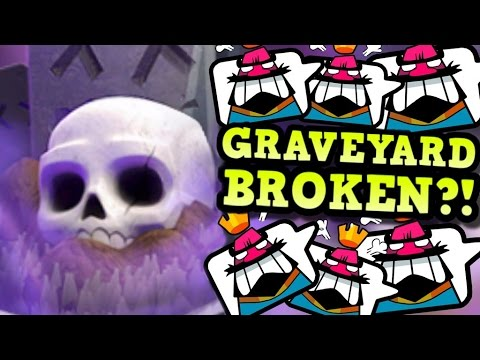 Is GRAVEYARD BROKEN in Clash Royale? If so, WHY?? (A Chat with EsoPa)