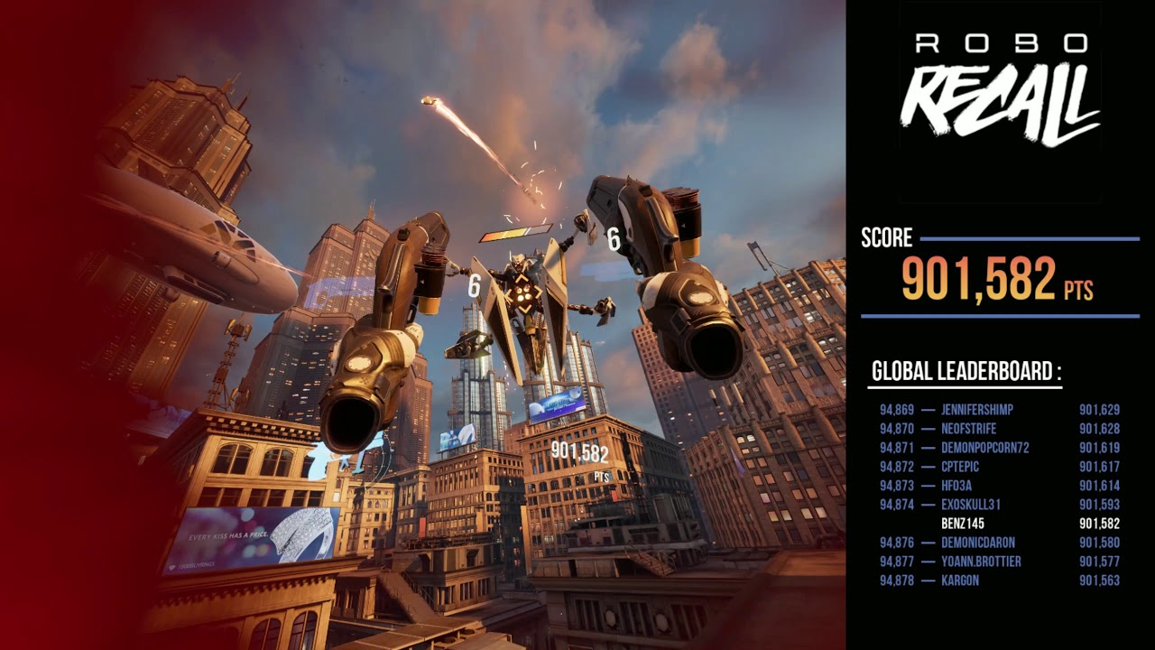 CLIP: 'Robo Recall' Played on Valve Index with Revive