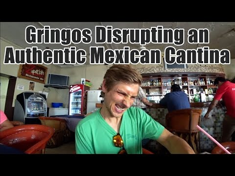 An authentic mexican cantina.
