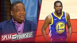 The Warriors' desperation led to Kevin Durant's injury - Jason Whitlock | NBA | SPEAK FOR YOURSELF