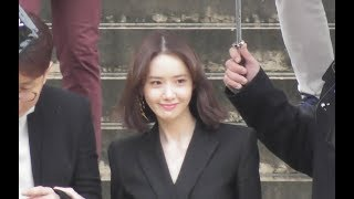 VIDEO YoonA 윤아 SNSD attends the Givenchy show @ Paris 4 march 2018 Fashion Week / mars - Stafaband