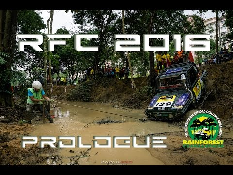 RFC 2016. Prologue of the Rainforest Challenge offroad 4x4 race in Malaysia.