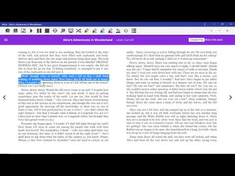 Read&Write For Google Chrome - EPub Reader Overview