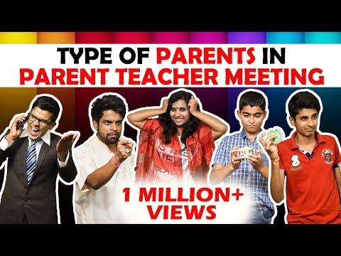 Types of Parents in Parent-Teacher meeting...