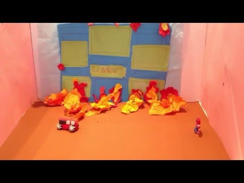 Norwich Library Fire animation