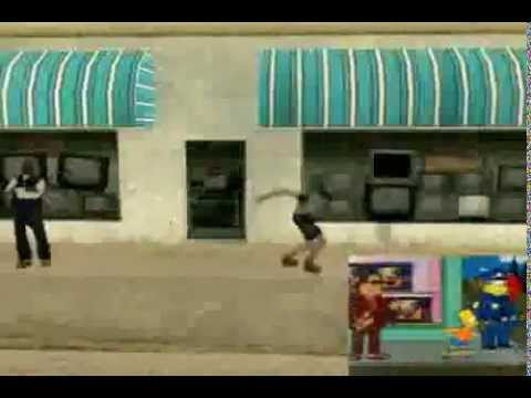 GTA San Andreas - The Simpsons Opening