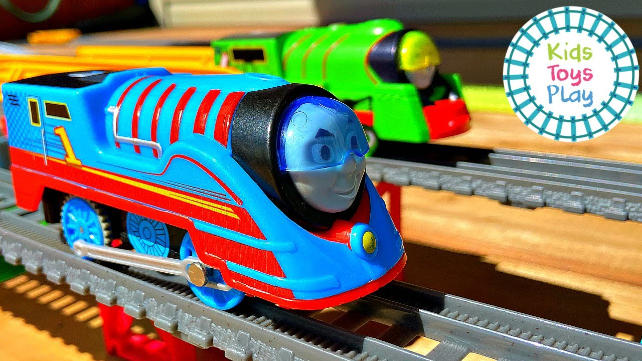 Thomas and Friends TURBO SPEED Trackmaster Races!