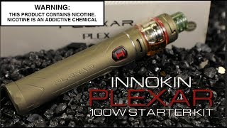 PLEXAR 100W Starter Kit By Innokin ~Vape Starter Kit Review~