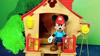 Domek na drzewie - Miki i Pluto - Disney - bajka po polsku
