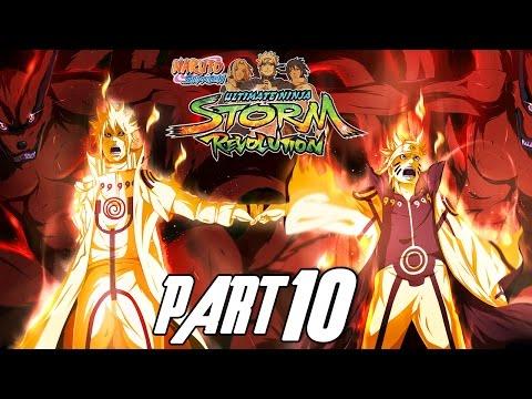 Naruto Shippuden: Ultimate Ninja Storm Revolution - Walkthrough Part 10, Gameplay Xbox 360